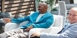 Steve Harvey And Kevin Grace